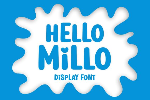 Print on Demand: Hello Millo Display Font By Jasm (7NTypes)