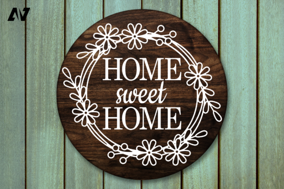Home Sweet Home, Porch Sign Graphic Crafts By Pinoyartkreatib