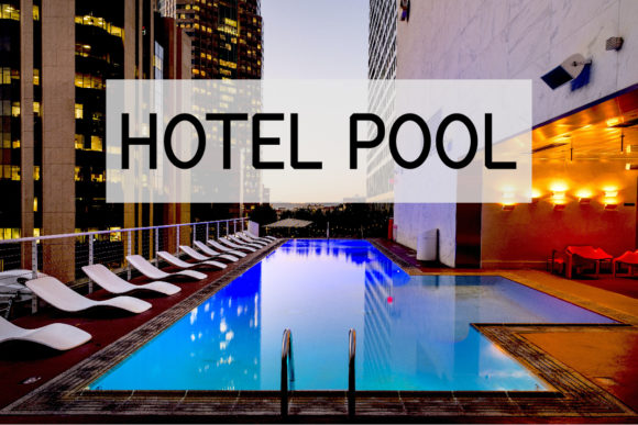 Print on Demand: Hotel Pool Sans Serif Font By Designvector10
