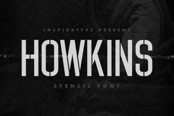 Print on Demand: Howkins Display Font By InspiraType
