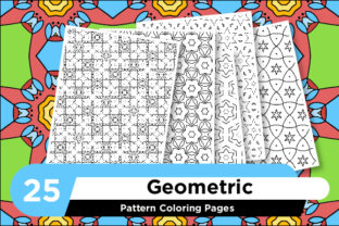 Print on Demand: KDP Geometric Adult Coloring Pattern Graphic Coloring Pages & Books Adults By Riduwan Molla
