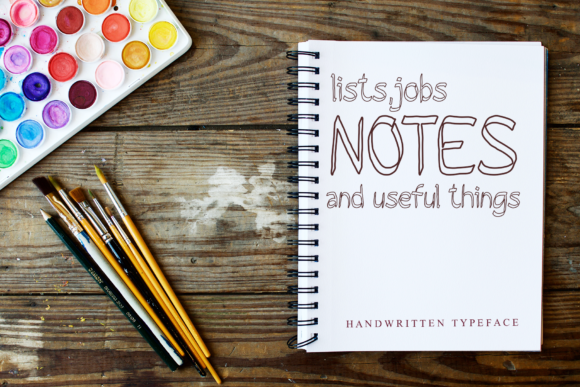 Notebook Font Download