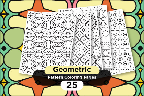 Print on Demand: Pattern Coloring Pages Graphic Coloring Pages & Books Adults By Riduwan Molla
