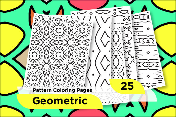 Print on Demand: Printable Seamless Pattern Design Graphic Coloring Pages & Books Adults By Riduwan Molla