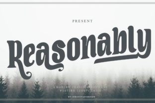Print on Demand: Reasonably Script & Handwritten Font By jehansyah251