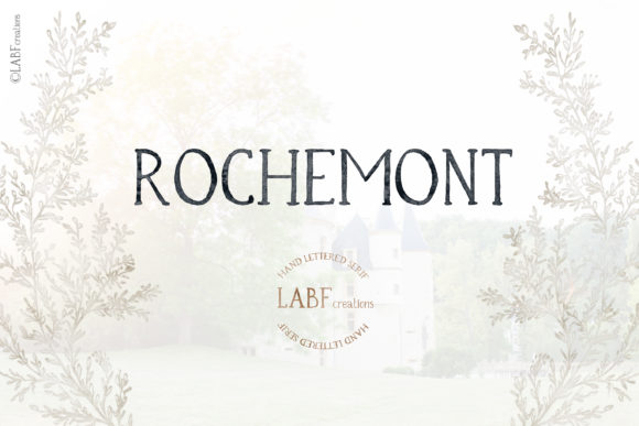 Print on Demand: Rochemont Serif Font By LABFcreations
