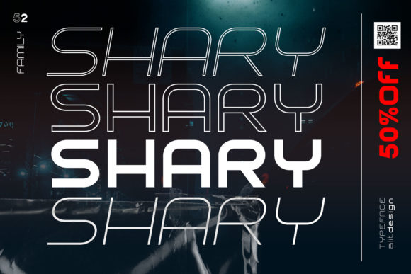 Shary Font Design