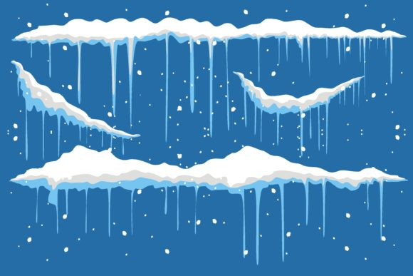 Print on Demand: Snow Christmas Creative Illustration Graphic Illustrations By edywiyonopp