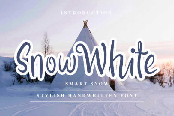 Print on Demand: Snow White Script & Handwritten Font By NYA Letter
