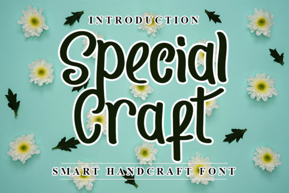 Print on Demand: Special Craft Script & Handwritten Font By NYA Letter