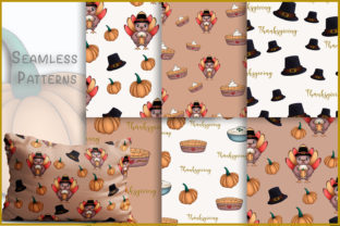 Print on Demand: Thanksgiving Clipart Fall Season Clipart Graphic Illustrations By StudioAngelArts