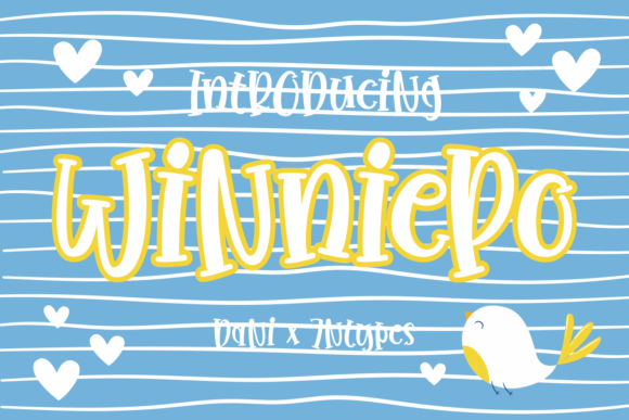Print on Demand: Winniepo Display Font By Dani (7NTypes)