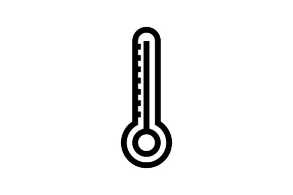 Temperature Line Icon Graphic Icons By thenoun.faisal