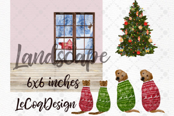 Christmas Family Clipart Plus Size Graphic Design