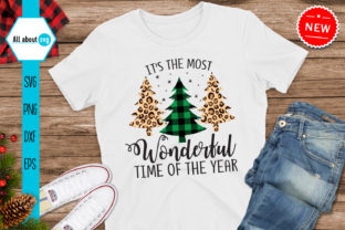 Print on Demand: Buffalo Plaid Trees Graphic Crafts By All About Svg