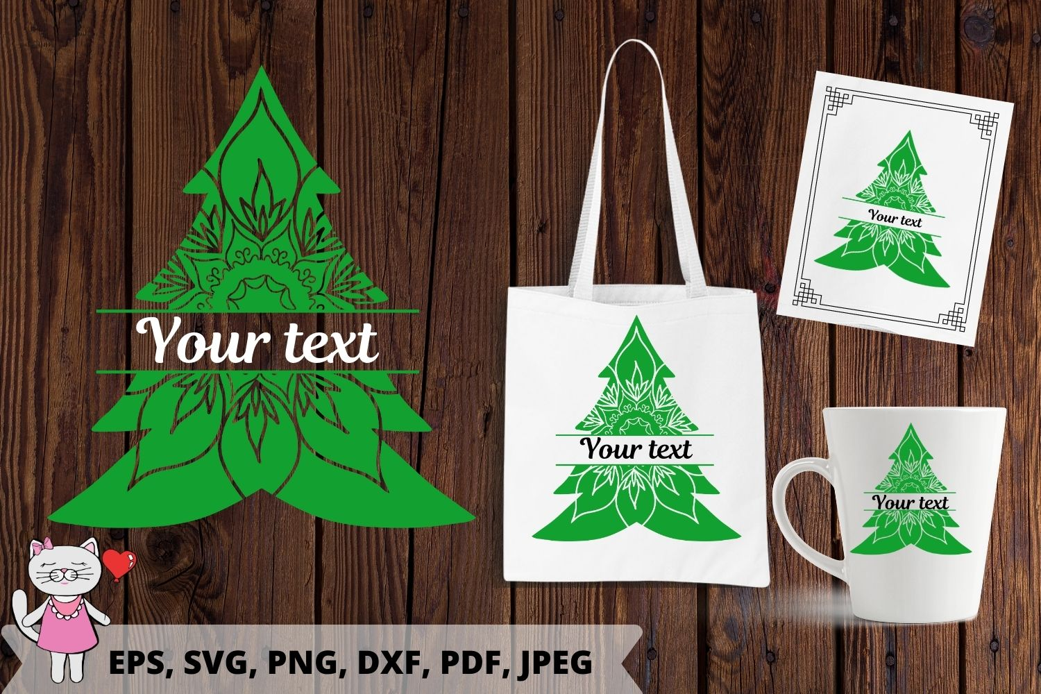 Christmas Tree Svg Graphic By Magic World Of Design Creative Fabrica