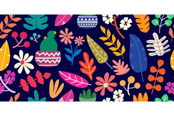 Colorful Modern Hand Drawn Illustration Graphic Patterns By visitindonesia