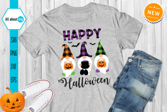 Happy Halloween Svg, Gnomes  Svg Graphic Crafts By All About Svg