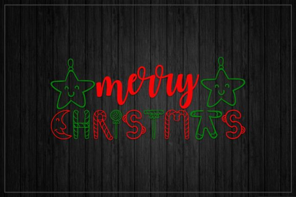 Merry Christmas Graphic Crafts By SVGitems