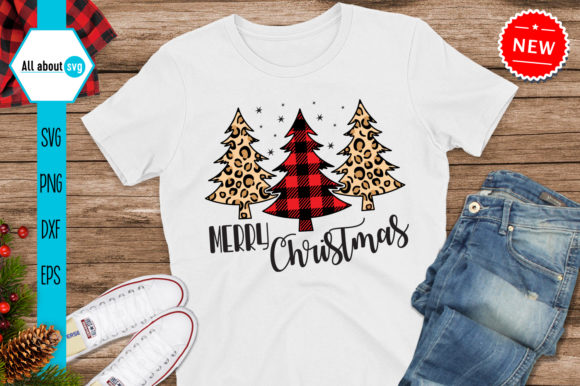 Merry Christmas, Buffalo Plaid Svg Graphic Crafts By All About Svg