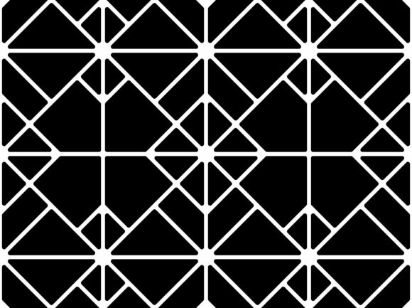 Mosaic Lines of Tile Pattern Graphic Patterns By asesidea