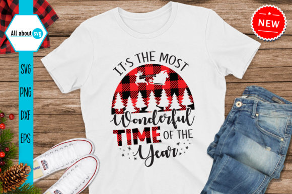 Most Wonderful Time of the Year Svg Graphic Crafts By All About Svg