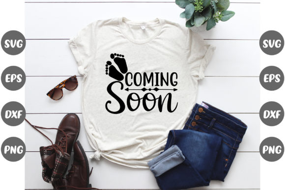 Print on Demand: Pregnancy, Coming Soon Graphic Print Templates By Design Store Bd.Net
