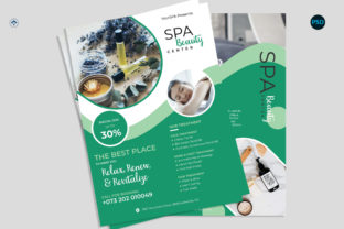 Spa Promotion Flyer V2 Graphic Print Templates By risegraph