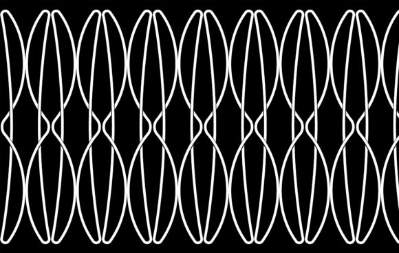 Spline Art of  Pattern Vector Graphic Patterns By asesidea