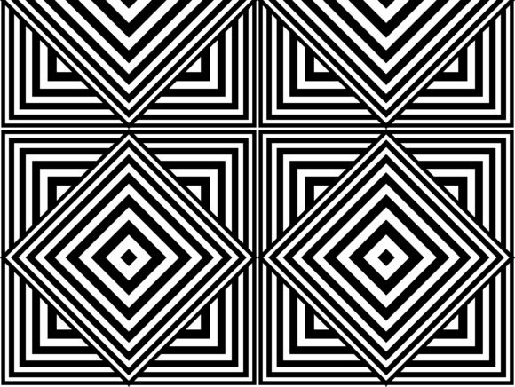 Square Diagonal of Tile Pattern Graphic Patterns By asesidea