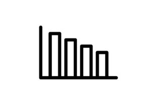 Loss Chart Line Icon Grafik Icons von thenoun.faisal