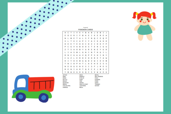 20 Toy Word Searches KDP Interior Graphic Item