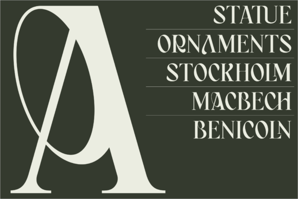 Bagerich Font Download
