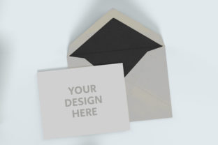 Blank Opened Envelope Mock Up Graphic Product Mockups By Avadesing