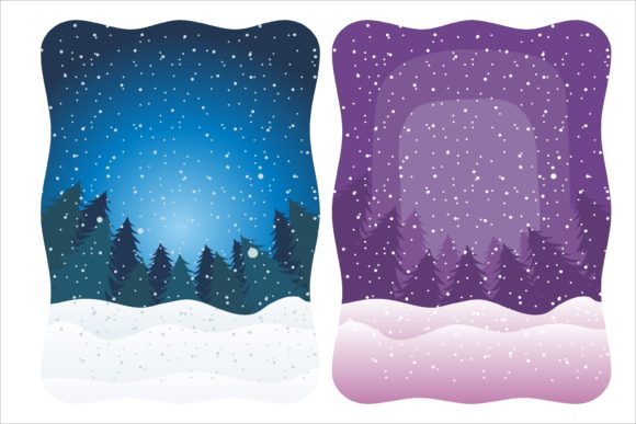 Print on Demand: Christmas Creative Greeting Card Graphic Illustrations By edywiyonopp