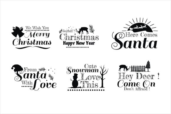 Print on Demand: Christmas Creative Print on Demand Graphic Illustrations By edywiyonopp