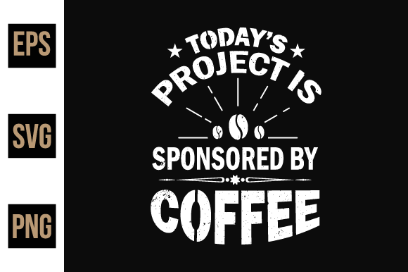 Print on Demand: Coffee T Shirts Design Vector. Graphic Print Templates By ajgortee