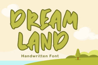 Print on Demand: Dreamland Display Font By hugefonts