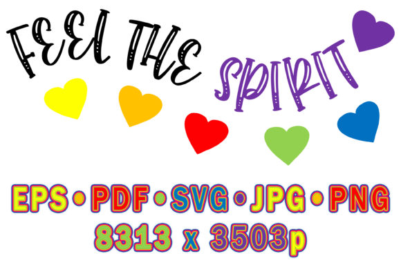 Feel the Spirit Graphic Crafts By vessto