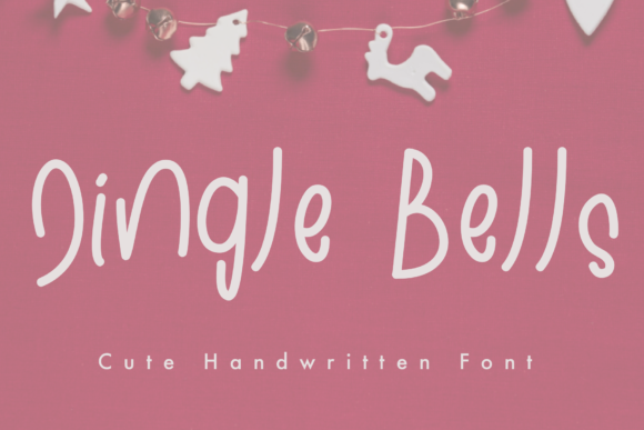 Print on Demand: Jingle Bells Script & Handwritten Font By KateType