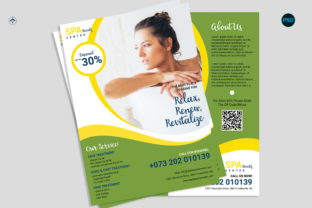 Spa Promotion Flyer V3 Graphic Print Templates By risegraph