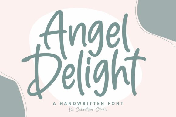 Print on Demand: Angel Delight Script & Handwritten Font By Subectype