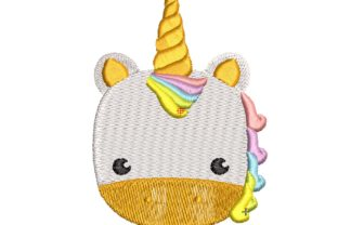 Baby Unicorn Baby Animals Embroidery Design By carasembor
