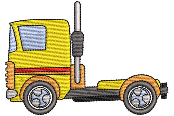 BigTruck Sports Embroidery Design By BabyNucci Embroidery Designs