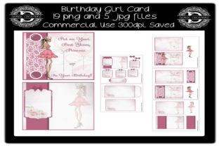Birthday Girl Card Graphic Crafts By Denise Creationz