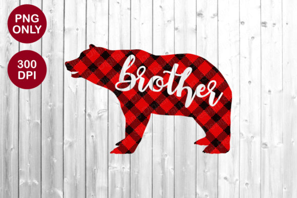 Brother Bear Sublimation PNG Designs Graphic Crafts By SineDigitalDesign