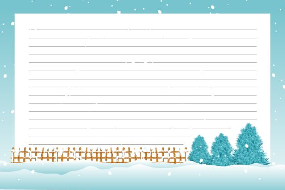 Print on Demand: Christmas Best Blank Notes Graphic KDP Interiors By edywiyonopp