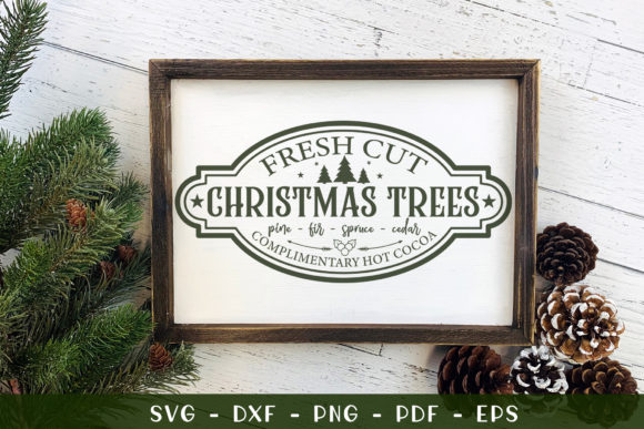 Christmas Farmhouse Graphic Crafts By CraftlabSVG