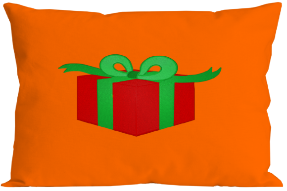 Christmas Gift Box Embroidery Preview