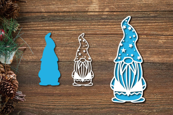 Christmas Gnome Svg Cut File Graphic Graphic Download